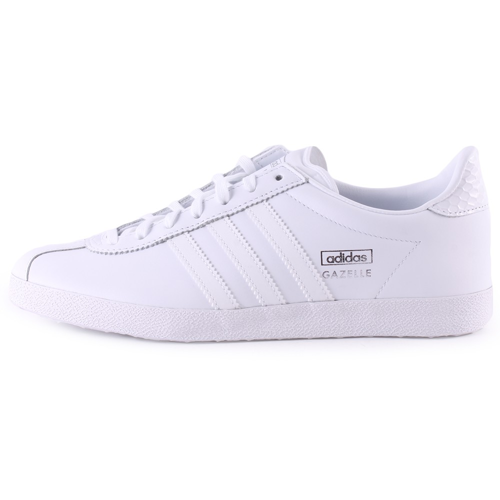white adidas trainers